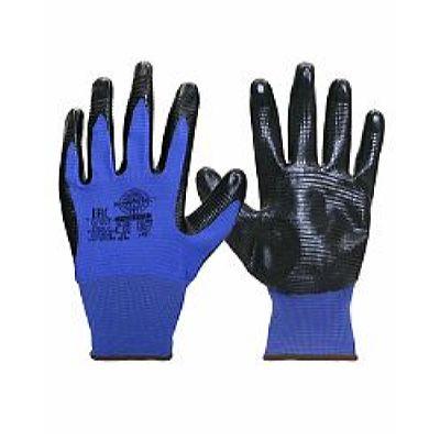 Перчатки РифНит (нейлон с черным нитрилом, рифл.покрытием,13-й класс вязки), р.S,М,L,XL, в уп.240п