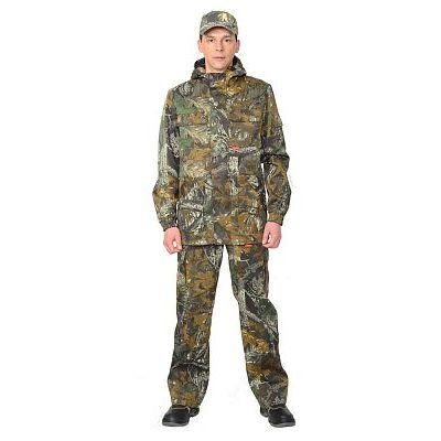Костюм Горизонт куртка, брюки (тк. Кроун 230) КМФ Темный лес