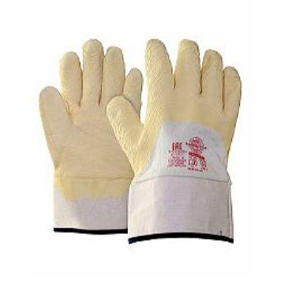 Перчатки Сандмен КЧ р.  L,XL (основа джерси, вспененное латексное покрытие),в уп120пар