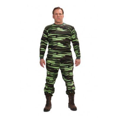 Костюм трикотажный КМФ 3-нитка «Лес» (зеленый кмф)