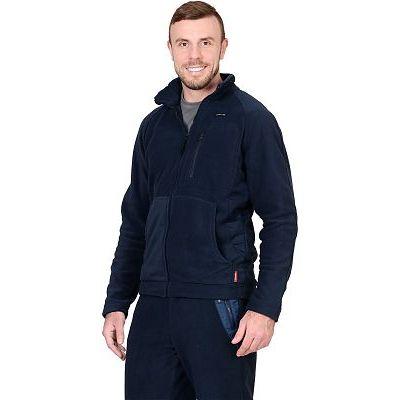 Куртка флисовая СИРИУС-Актив синяя отделка синяя