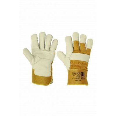 Перчатки кожаные комбинированные (утепленные) ПЕР251