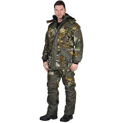 Костюм СИРИУС-ГОРКА зимний: куртка дл., брюки (тк.CROWN-230) КМФ