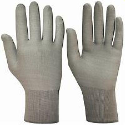 Перчатки НейпС (нейлон, без покрытия, цвет серый) р.7,8,9,10, в уп.300пар