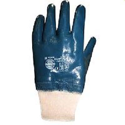 Перчатки нитриловые СИРИУС-НИТРИЛ РП (ЛЮКС), в уп.120пар, с эласт. манжетами обливные р. 9,10,11
