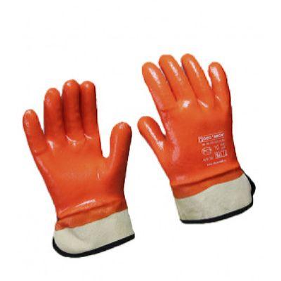 Перчатки ПВХ, морозостойкие, крага (120 пар в уп.)