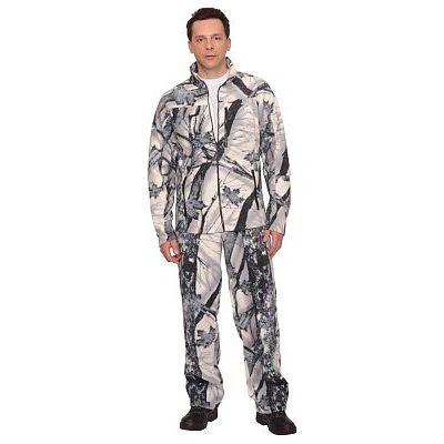 Костюм флисовый СИРИУС-Ирбис куртка, брюки КМФ Зимний лес