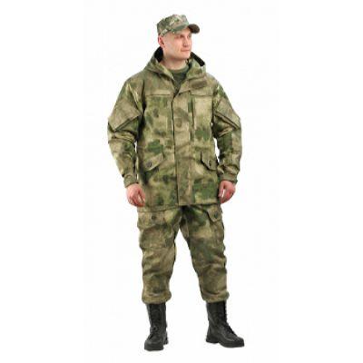 Костюм мужской Gerkon Gorka-5 летний кмф т.Канвас-100%хлопок, отделка рип-стоп Атака