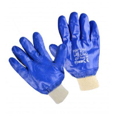 Перчатки нитриловые, манжет, полное покрытие (60 пар в уп.)