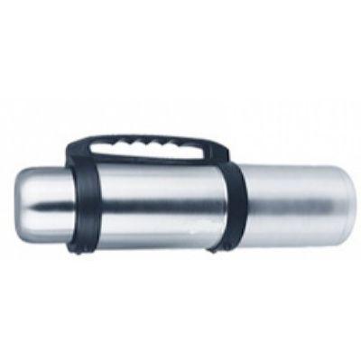 Термос LUO TUO с широким горлом,крышка с кнопкой,вакуумный.стальной, с миской,с ручкой, 3,5л(6шт)