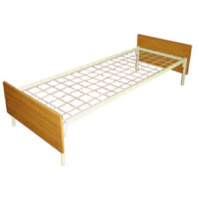 Кровать одноярусная с ЛДСП спинками (700 х 1900)