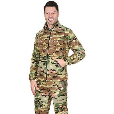 Куртка флисовая 260г/кв.м КМФ Мультикам
