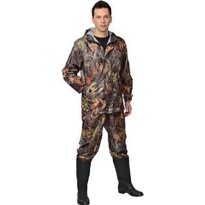 Костюм СИРИУС-Турист куртка дл., брюки (тк.Оксфорд) КМФ Темный лес