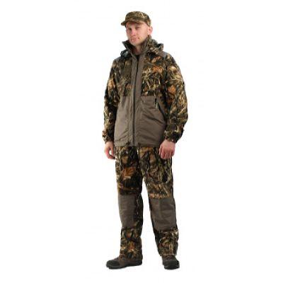 """Флисовый костюм """"Панда"""" кмф """"Тростник"""" с накладками,350г/м2"""