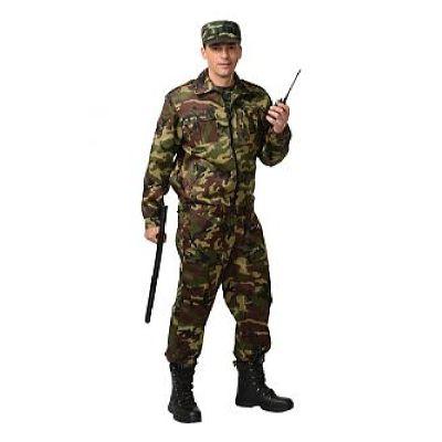 Костюм СИРИУС-Фрегат куртка, брюки (тк. Грета 210) КМФ зеленый