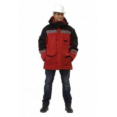 Куртка Зимник красный/черный КУР602